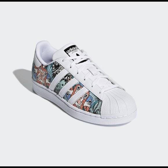 adidas Shoes   Adidas Superstar Unique Design   Poshmark